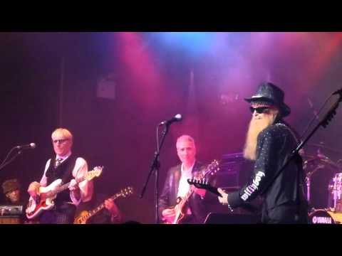 Billy F. Gibbons & Wall Street All Stars - Jesus Just Left Chicago  11-10-14 Highline Ballroom, NYC