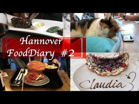 Hannover Food Diary #2 - Katzencafe, perfekte Steaks & Waffelträume