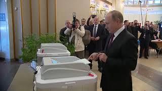 Путин показал всем, за кого проголосовал на выборах московского мэра - политический ход?!