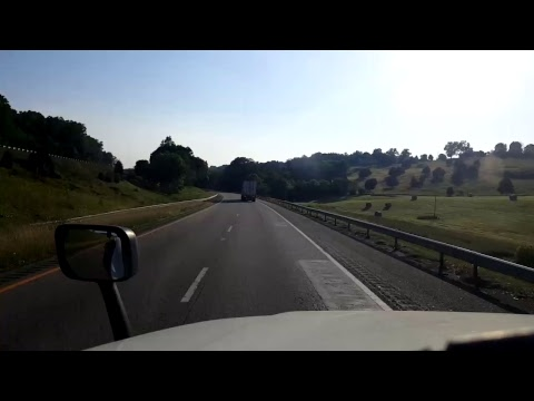 BigRigTravels LIVE! - Winchester to Lexington, Virginia - Interstate 81 South - June 11, 2017