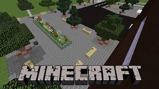Minecraft Hastane Arka Bahçe Yapımı
