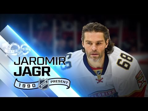 Jaromir Jagr second on NHL points list
