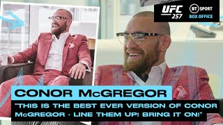 """Line them up! Bring it on!"" Conor McGregor ready to takeover the lightweight division 