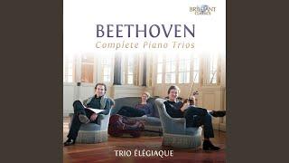 Piano Trio in E-Flat Major, WoO 38: II. Scherzo. Allegro ma non troppo