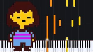 Once Upon a Time & Good Night - Undertale [Piano Tutorial] (Synthesia) // Torby Brand
