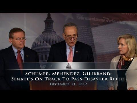 Schumer, Menendez, Gillibrand: Senate
