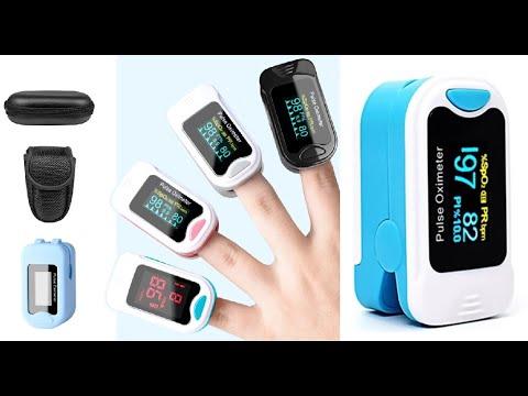 💝 Пульсоксиметр бытовой на палец с OLED дисплеем сертифицированный CE на Алиэкспресс