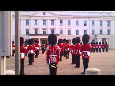 Queen's Guard playing James Bond Theme