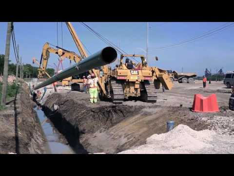 Union Gas Pipeline Installation