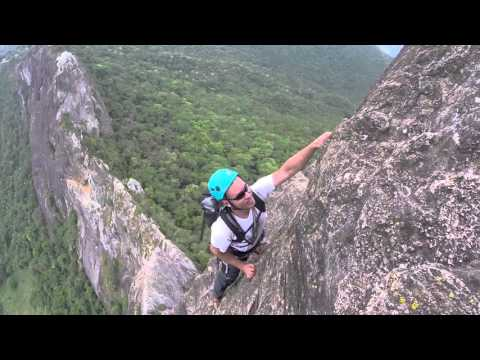 Escalada Da Via Normal Da Pedra Do Bau [São Bento Do Sapucaí] HD GoPro