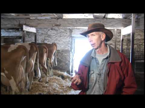 Organic farming and raw milk ! - Paul Noble