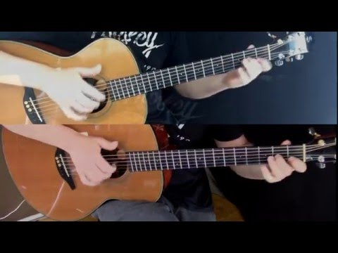 Stealers Wheel - Stuck In The Middle With You - Fingerstyle Guitar