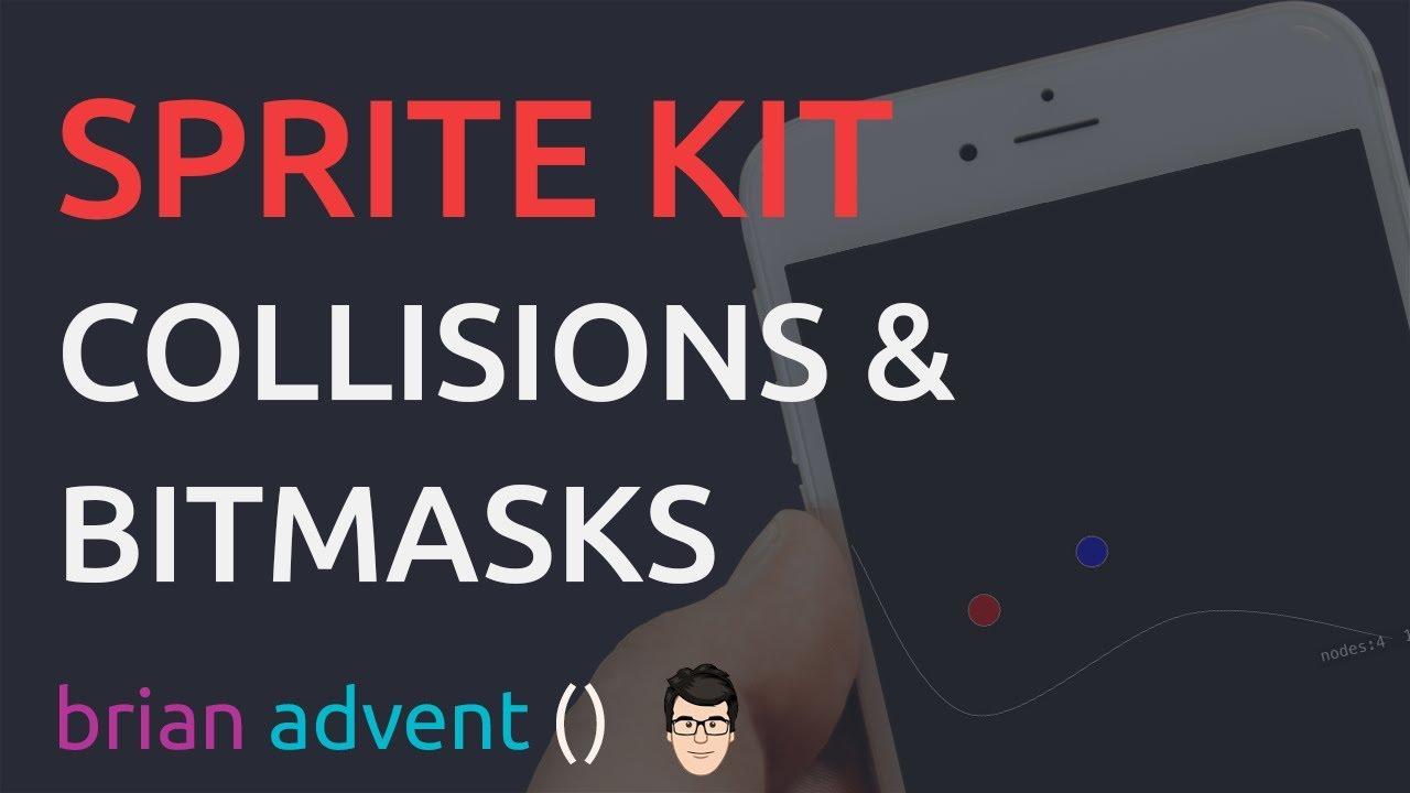 SpriteKit Basics Tutorial: Collisions, Bitmasks and Physics & New SpriteKit  Course