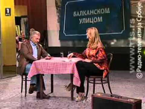 Balkanskom ulicom RTS -  Miroslav Ilić 1.deo 04.12.2011.