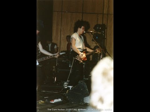The Cure 1982 Aachen,Perfect sound and foto ..A Desire for Flesh and Real Blood