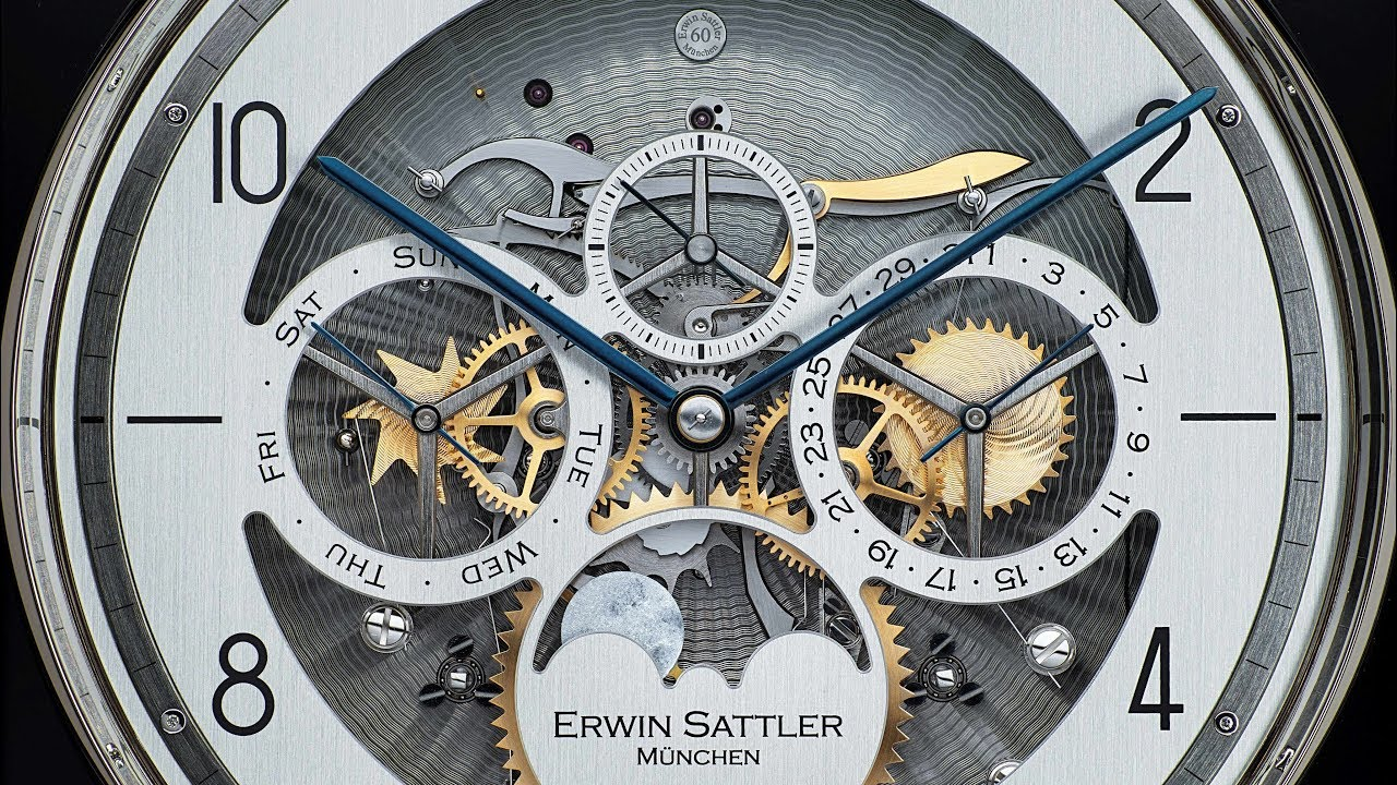 Erwin Sattler Aperia II - Regulator Pulley Clock