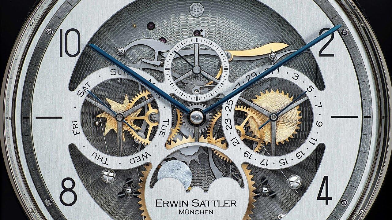 Erwin Sattler Aperia II - Regulator Pulley Clock