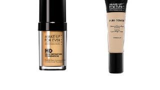 Review: Makeup Forever HD Foundation + full cover concealer Thumbnail
