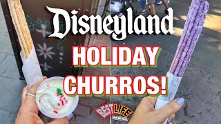 We Tasted Every Holiday Specialty Churro at Disneyland for Christmas 2019! Guide and Review