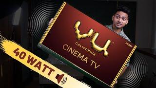 New VU Cinema Smart TV 43 inch Unboxing & First Impression | 40 Watt Speaker