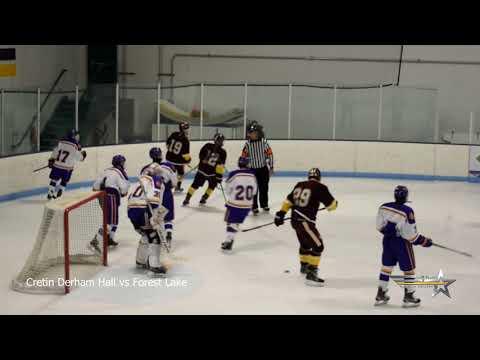 Cretin Derham Hall  vs Forest Lake   (Boys Hockey)