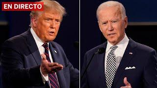 #ELECCIONES EEUU | DEBATE íntegro entre TRUMP y BIDEN