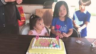 HORRIBLE DRUNK UNCLE SINGING HAPPY BIRTHDAY SONG! | Happy birthday, Sophia & Chloe.