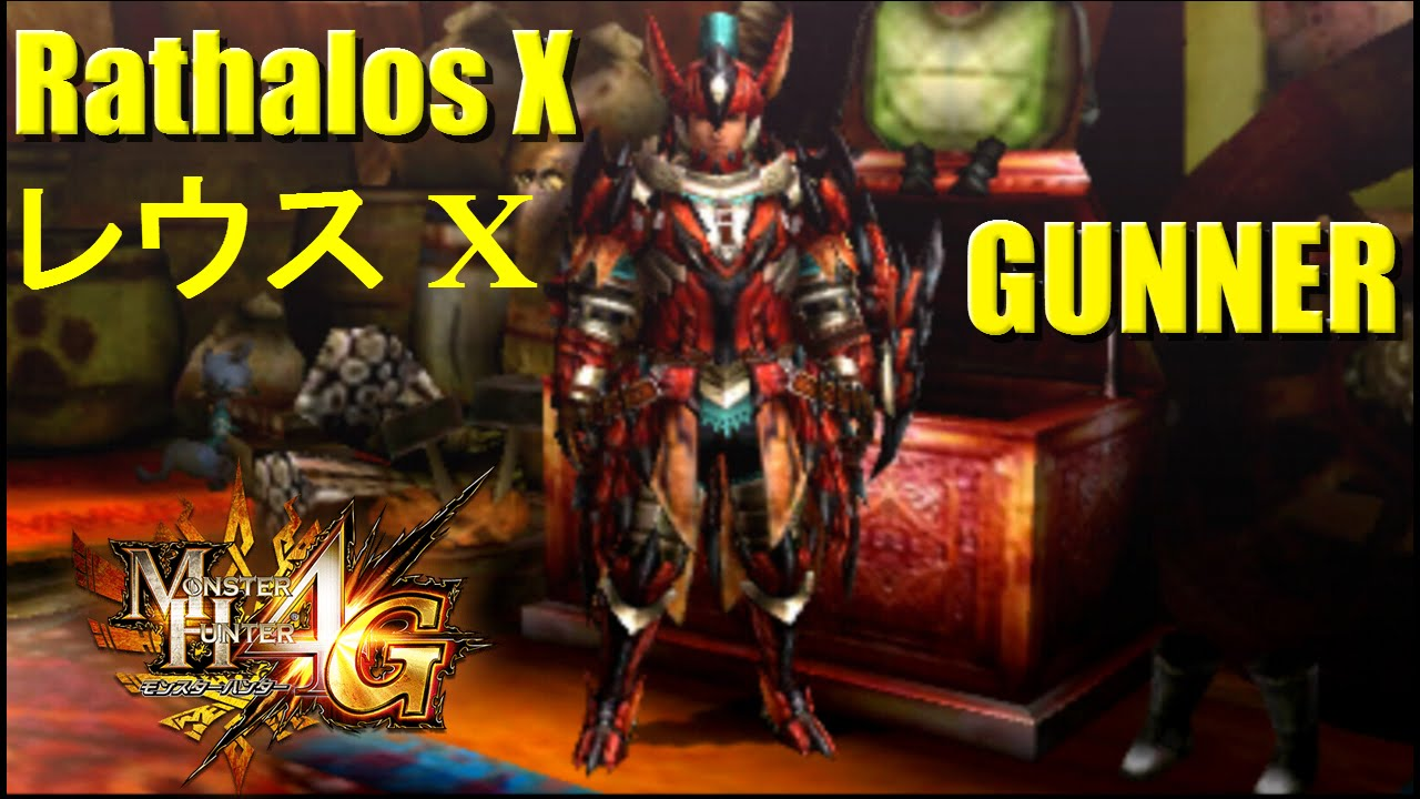 Monster Hunter 4 Ultimate G Rank Armor Overview: Rathalos