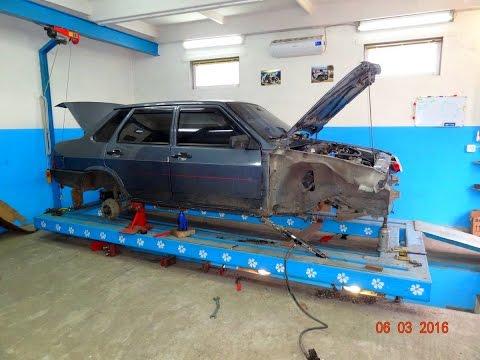 ВАЗ 21099. вытяжка кузова.