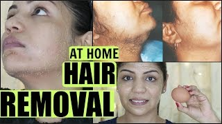EGG Facial Hair Removal At Home Permanently | SuperPrincessjo | SuperPrincessjo