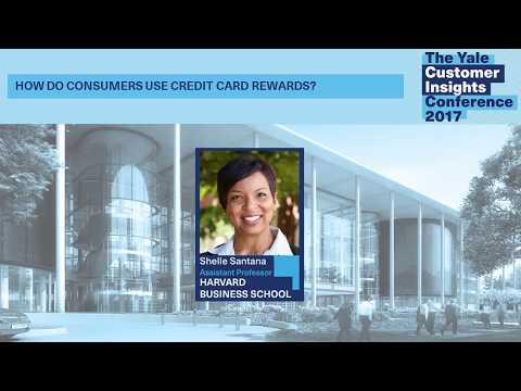 Shelle Santana, Harvard Business School: How Do Consumers Use Credit Card Rewards?