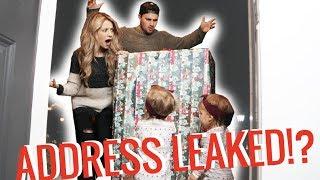 Fan leaves HUGE GIFT at our doorstep *address leaked?*