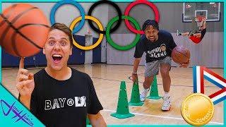 BASKETBALL OLYMPICS vs MARCELAS HOWARD!
