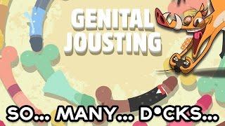 genital jousting   size matters   hogsplay 18
