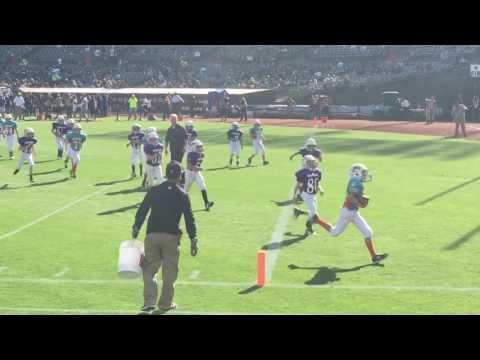 PJFL Dolphins at Oakland Coliseum