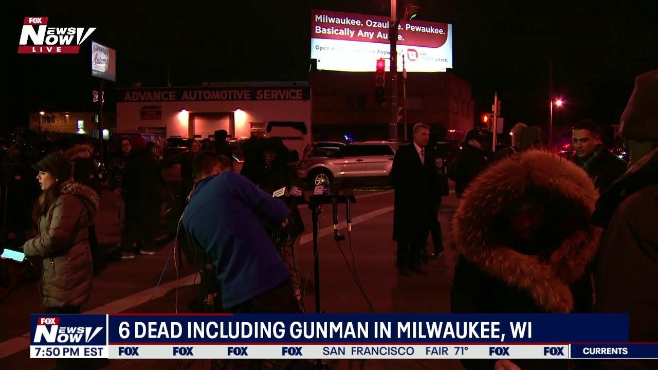 BREAKING: ACTIVE SHOOTER Situation in Milwaukee, Wisconsin