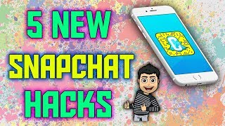 5 Snapchat Hacks 2018 || New || iphone || android