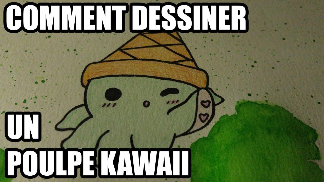 COMMENT DESSINER UN POULPE KAWAII