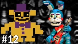 Toy Bonnie Plays: FNAF World #12 || THE TWO VOICES IN HIS HEAD