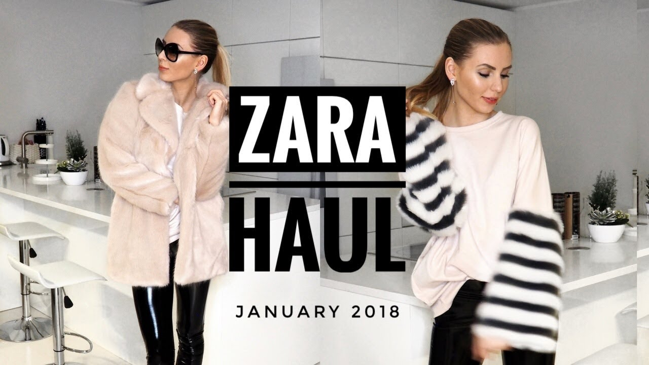 5b7d9e15343 ZARA TRY ON HAUL JANUARY 2018 - EVERYTHING IS ON SALE NOW!