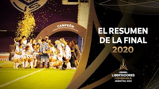 América de Cali vs. Ferroviária [1-2]   FINAL   CONMEBOL Libertadores Femenina 2020
