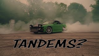 Crazy Street Drift Tandems!!