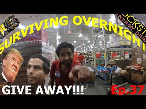 SURVIVING OVERNIGHT WORK ! [yea!! Rockstar Energy!] Ep. 37