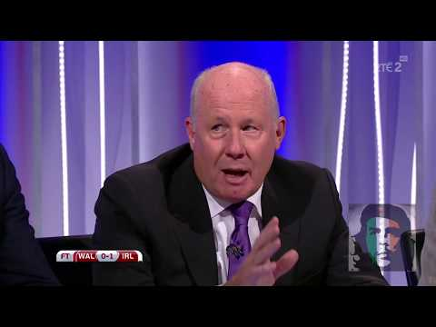 Wales 0-1 Ireland post match analysis HD Dunphy, Brady, Sadlier