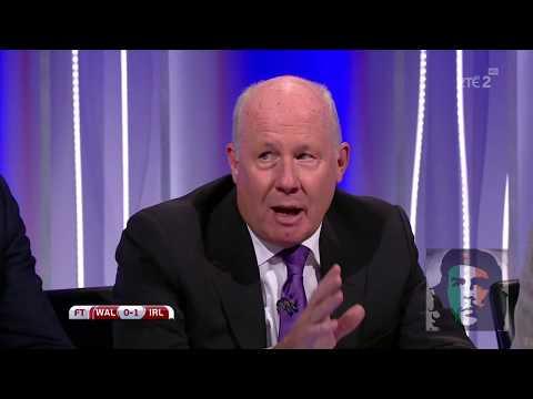 Wales 0-1 Ireland post match analysis HD Dunphy, Brady, Sadlier