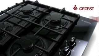видео Варочная панель электрическая GEFEST СВН 3210 К21 (черный матовый)