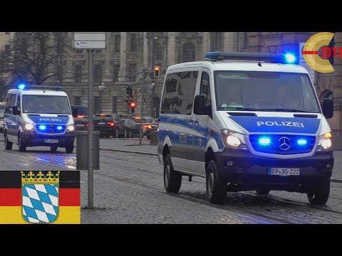 [MÜNCHEN] FüKw + 3xHGruKw BPol Aufstellung zur Sicherheitskonferenz 2017