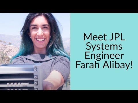 Meet JPL's  Systems Engineer Farah Alibay!