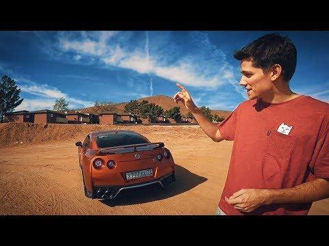 Nissan GT-R на русских номерах в Лос-Анджелесе?