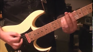 How to play Holy Wars(The Punishment Due) by Megadeth on guitar